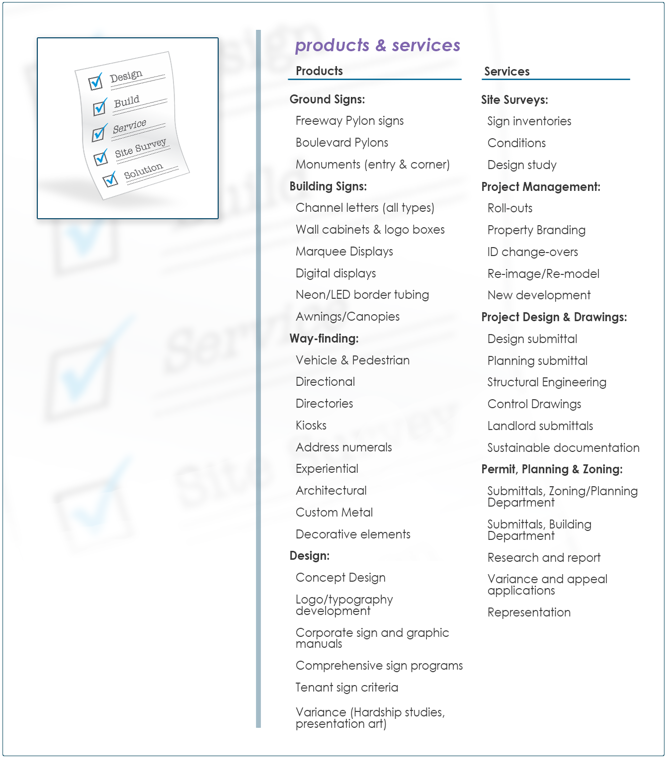ABOUT3-products and services